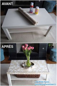 Most up-to-date Free of Charge Home Decorating Trends 2018 Product - Interior Ideen Ikea - Tips On among my very regular visits to IKEA I came across cheaper lacking tables which were the perfect Trendy Furniture, Diy Furniture Projects, Ikea Furniture, Repurposed Furniture, Furniture Makeover, Ikea Lack Coffee Table, Marble Top Coffee Table, Ikea Table, Coffee Tables