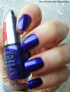NailS and ColorS: PUPA 410 Eccentric Violet
