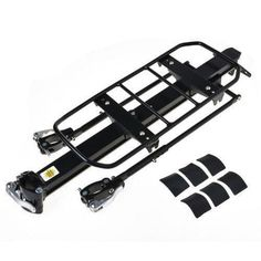 RockBros Bike Rear Rack Carry Carrier Seatpost Quick Release Aluminum Max 25KG B
