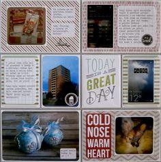 Project life 2014 - 51. týden (pravá strana) Project Life, Frame, Projects, Decor, Picture Frame, Log Projects, Blue Prints, Decoration, Decorating