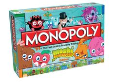 New Monopoly Exclusive MOSHI MONSTERS Edition Board Game