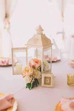DIY Wedding Centerpieces, suggestion stamp 9187548479 - Delightfully romantic steps to put together a most memorable and dazzling centerpiece. diy wedding centerpieces romantic suggestions imagined on this day 20190115 , Pastel Wedding Centerpieces, Lantern Centerpiece Wedding, Cheap Wedding Flowers, Wedding Lanterns, Wedding Table Centerpieces, Wedding Decorations, Centerpiece Ideas, Wedding Ideas, Wedding Pastel