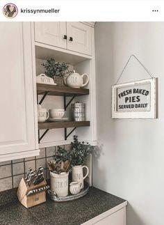 Decorating Your Home, Interior Decorating, Interior Design, Kitchen Redo, Kitchen Remodel, Diy Home Crafts, Home Decor Items, Home Kitchens, Home Remodeling