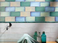 Bring unique vintage accents to your home with the Merola Tile Antic Special Agua Marina 3 in. x 6 in. These smooth subway tiles feature uneven edges for a handmade look. Online Tile Store, Glazing Techniques, Best Floor Tiles, Ceramic Subway Tile, Subway Tiles, Metro Tiles, Tile Projects, Tile Design, Color Mixing