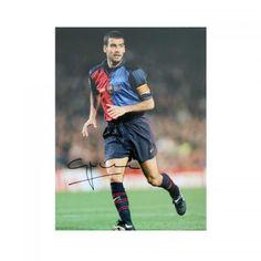 Pep Guardiola Signed Barcelona Photo - Sports Memorabilia Barcelona  Players 9fa16769c