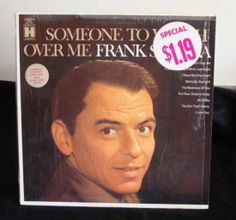 Frank Sinatra Lp Someone To Watch Over Me Near Mint #EasyListening