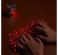 Cube Laser Virtual Keyboard for iPad & iPhone