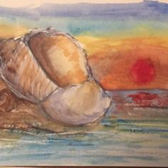 Gorgeous sunset drawing from Jammer in our Secrets of Drawing course! Fun Projects For Kids, Drawing Course, Art Tutorials, Sunset, Drawings, Nature, Painting, Sunsets, Naturaleza