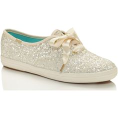 7c86f970a438d keds x kate spade new york glitter sneakers ( 85) ❤ liked on Polyvore  featuring