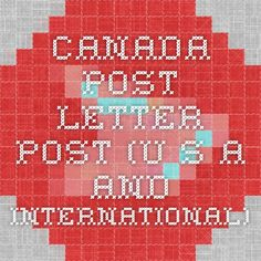 canada post instructions