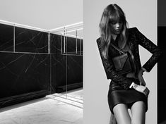 Freja Beha Erichsen Stars in Saint Laurent Pre-Fall 2013 Campaign by Hedi Slimane | Fashion Gone Rogue: The Latest in Editorials and Campaigns