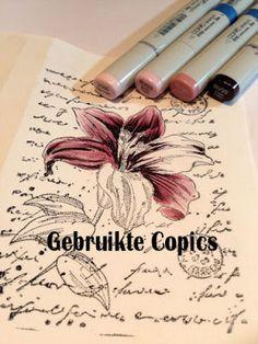 Copic Marker Benelux: Kleuren op stempellinnen