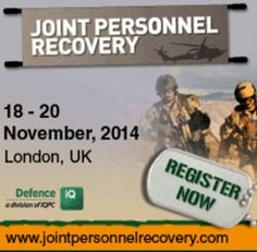 Joint Personnel Recovery 2014 at IQPC UK, 129 Wilton Road, London, SW1V 1JZ, United Kingdom, on 18-20 November, 2014 at 9am - 5:30pm. Exploring the future of Joint Personnel Recovery: A military and commercial crisis management collaboration. Category: Conferences. Price: £749 - £3249. Speakers: Lieutenant Colonel Mark Ahrens, Wade Chapple, Chris Clegg, Flight Sergeant Richie Flack, Major Bart Holewijn.