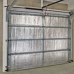 Garage door insulation cuts energy bills and street noise. Here's How To Insulate A Garage Door                                                                                                                                                                                 More