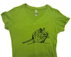 Elephant Shrew Graphic TShirt  Strange but by FragglesAndFriggles, $20.00