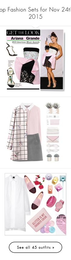 """""""Top Fashion Sets for Nov 24th, 2015"""" by polyvore ❤ liked on Polyvore featuring Dsquared2, GetTheLook, RedCarpet, ArianaGrande, CelebrityStyle, GiambattistaValli, Chloé, Monki, Pomax and Rebecca Minkoff"""