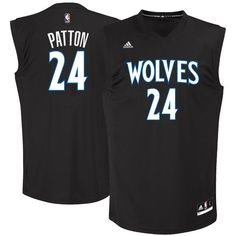 3e11d1118487 Timberwolves 24 Justin Patton Black 2017 NBA Draft  1 Pick Replica Jersey