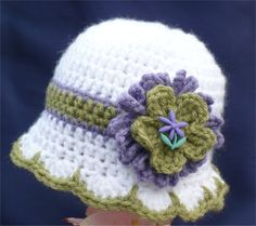 Crochet Hats and wearables at The Edge of 17