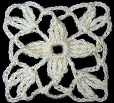 Crochet : Motivos, Flores y Cu