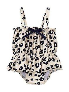 @Jenn Lynn- should have gotten this one for Lu Lu!  Printed ruffle skirt one-piece   Gap