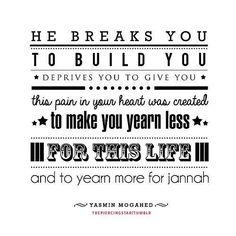 Yearn for Jannah