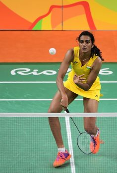 India's Pusarla V Sindhu returns against Spain's Carolina Marin World Badminton Championship, Badminton Pictures, P V Sindhu, Old Yearbooks, Badminton Sport, World Cricket, 2016 Pictures, Bollywood Girls, Sai Baba