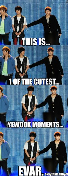 Not really sure where to pin this...but I made it and wanted to pin it, so I guess it can go here for now. YeWook is my one of my fav OTPs...so adorable! >-