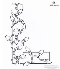 Free Printable Funny Alphabet Letters | Letter L Activity : Letter L Coloring Page : Activity Coloring Pages