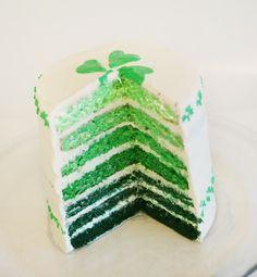 St Patty's Day cake!