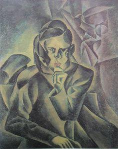 Kubista, Bohumil - Podobizna Jana Zrzaveho (1912)