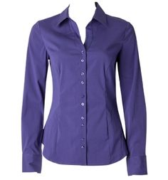 essential button-up blouse