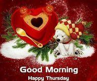 Good Morning, Happy Thursday, May Hope And Joy Surround You, God Bless