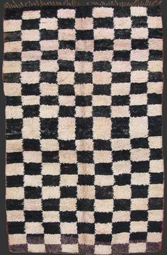 Extremely rare Beni Mguild or Ait Sgougou double sided pile rug, western Middle Atlas, Morocco, 1970/80, 290 x 190 cm (9' 6'' x 6' 3'')