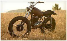 '81 Yamaha SR 250 - La RaízMotorcycles - Pipeburn - Purveyors of Classic Motorcycles, Cafe Racers & Custom motorbikes