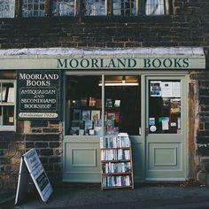 Moorland Books #bookshop in Oldham, England