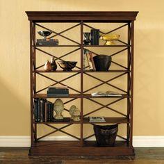 Bourdonnais Double Bookcase Tall - Ballard Design