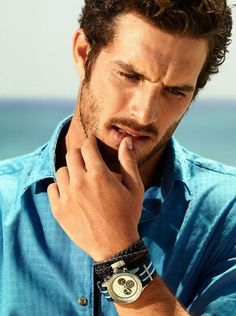 Justice Joslin Reunites with Massimo Dutti for New Look Book