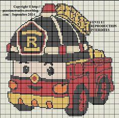 Plus de 1000 id es propos de robocar poli sur pinterest - Robocar poli pompier ...