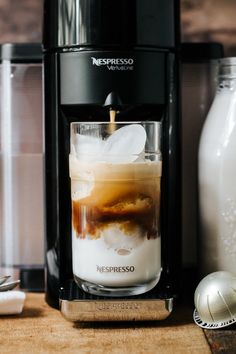 Master the art of creating delicious iced coffee from the comfort of your own kitchen with the help of a Nespresso Vertuoline coffee machine. Whether you're getting work done on your patio outside or entertaining guests at a summer dinner party, having your favorite Nespresso Vanizio Grand Cru on hand will keep you refreshed all summer long.