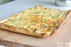 quiche cu branza si legume - adi hadean Quiche, Bread, Breakfast, Recipes, Food, Pie, Morning Coffee, Brot, Essen