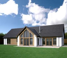 Homes Portfolio - Bungalow homes - Scotframe Timber Frame Homes Modern Bungalow Exterior, Modern Bungalow House, Bungalow Homes, Bungalow House Plans, Bungalow Extension Plans, Bungalow Conversion, Dormer Bungalow, Bungalow Extensions, Bungalow Renovation