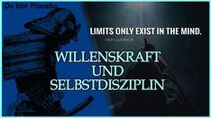 ☯ Silent Placebo - Willenskraft und Selbstdisziplin - mehr Durchhaltevermögen Wille, Mindfulness, Youtube, Movie Posters, Fictional Characters, Self Discipline, Keep Up, Film Poster, Youtubers