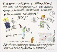 Niki de Saint Phalle, 2001, Abortion - Freedom of choice