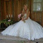Sarah hurmaa! #weddingdress from www. sisidman.com