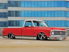 1969 Chevy Pickup Truck But I want min all white and not slammed to the floor Chevy C10, 67 72 Chevy Truck, Classic Chevy Trucks, Chevy Pickups, Bagged Trucks, Lowered Trucks, C10 Trucks, Mini Trucks, Pickup Trucks