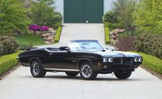 1970 Pontiac GTO Convertible - Auctions America (sold, $44,000, August 2013)