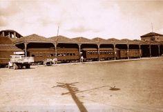 Estação da Estrada De Ferro Sorocabana em Jundiaí SP.