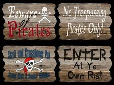 pirate decorations - Google Search