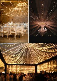 12 Ideias de iluminação para o seu casamento   Mariée: Inspiração para Noivas e Casamentos