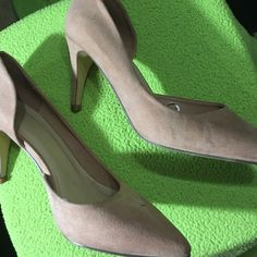 Pink heels Size 6.5 very comfortable and unused Forever 21 Shoes Heels